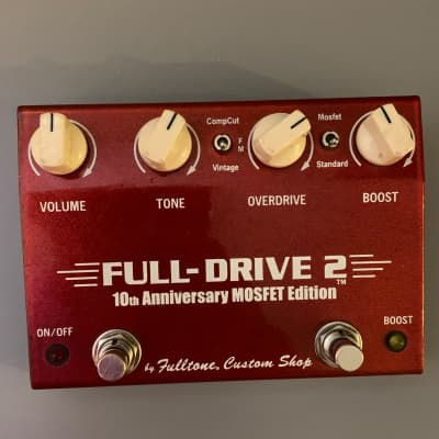 Fulltone Full-Drive 2 10th Anniversary MOSFET Overdrive