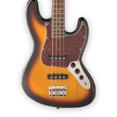 Jay Turser JTB-402-TSB JTB Series Maple Neck 4-String Electric Bass Guitar - Tobacco Sunburst for sale