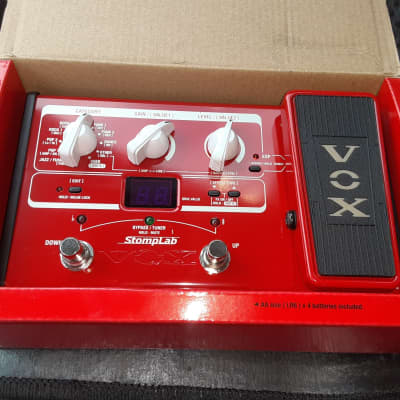 Vox SL2B StompLab IIB Modeling Bass Processor *Still In Box*