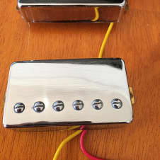 Chinese Humbuckers PAF Copy Chrome Pickups Chrome
