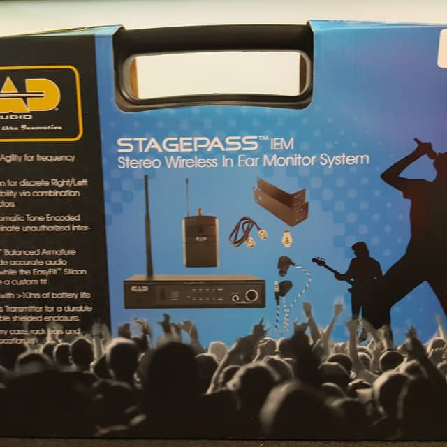 CAD CAD Audio StageSelect IEM Wireless In Ear Monitor System Formerly Stagepass 2018 BLACK image