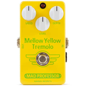 Mad Professor Mellow Yellow Tremolo Guitar Pedal Hand Wired Edition for sale