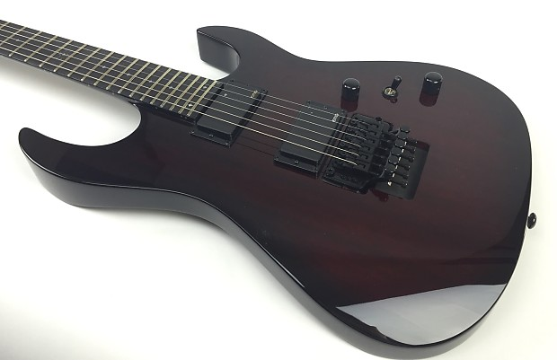 B.C. Rich ASM PRO Electric Guitar-Black Cherry Burst, No Case | Reverb