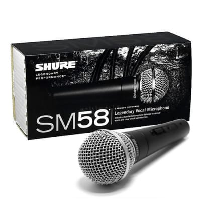 Shure SM58S Legendary Vocal Microphone with On / Off Switch