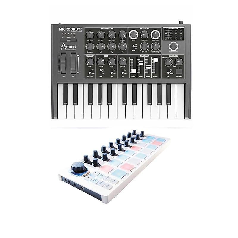 arturia microbrute mini analog synthesizer with arturia
