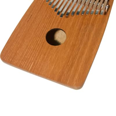 Dobani 17-Key Thumb Piano Kalimba w/ Round Back - Red Cedar