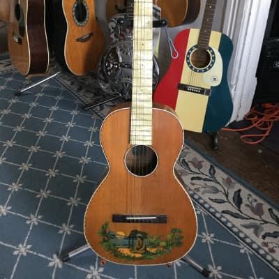 Supertone Hawaiian Parlor Acoustic 1930's Natural for sale