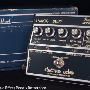 Pearl F-605 Electro Echo Analog Delay with MN3005 BBD s/n 512719 early 80's for sale