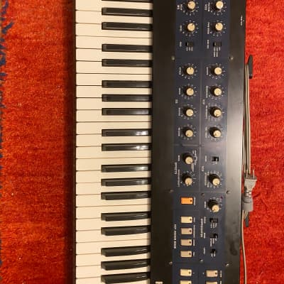 Korg PolySix  Synth Completely restored by expert synth tech battery replaced