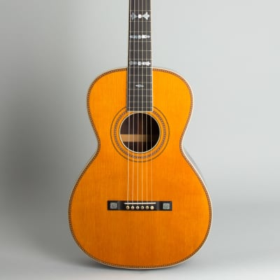 Vega  Style # 94 Flat Top Acoustic Guitar,  c. 1910, ser. #19013, original black hard shell case. for sale