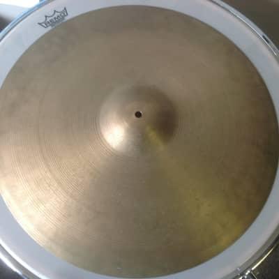 """A. Zildjian 22"""" Hollow Logo Thin Crash Cymbal 1978 - 1982"""