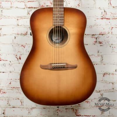 Fender Redondo Classic Acoustic/Electric Guitar Aged Cognac Burst x2033 for sale