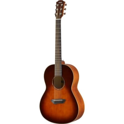 Yamaha CSF3M All-Solid Parlor Acoustic-Electric Guitar - Old Violin Sunburst