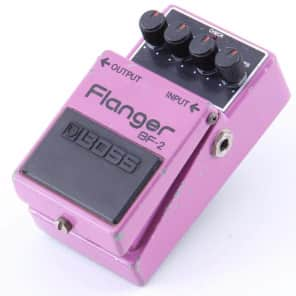 Boss BF-2 Flanger 1980-1984 (Black Label) Made In Japan