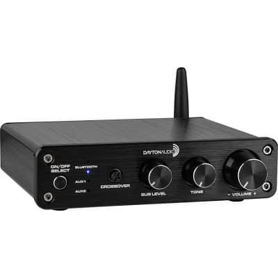Dayton - DTA-2.1BT2 - 100W 2.1 Class D Bluetooth Amplifier with Sub Frequency