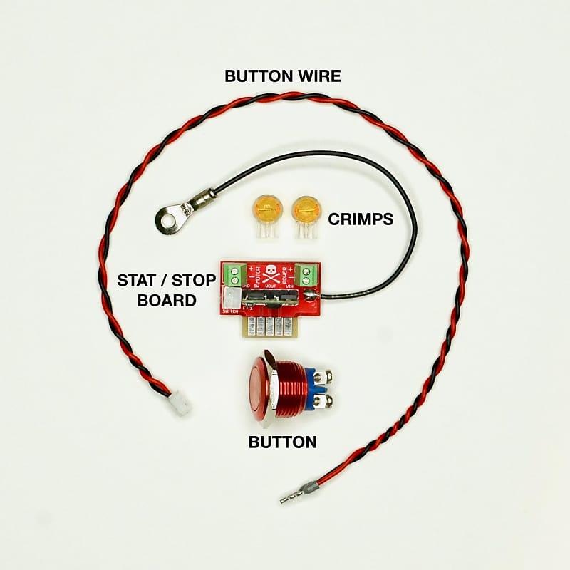 Jesse Dean JDDDSSB Digital Start/Stop Button Kit