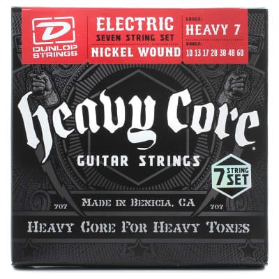 Dunlop DHCN1060 Heavey Core Electric String 7/SET