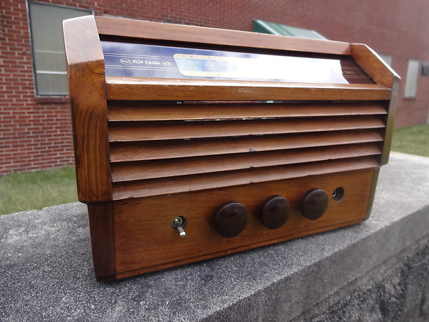 D Lab Boutique Wood Radio Cabinet RCA 6V6 Victory Tube Guitar Amp Head