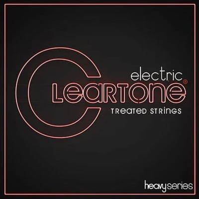 Cleartone Heavy Series Electric Treated Guitar Strings - Drop 60 12-60