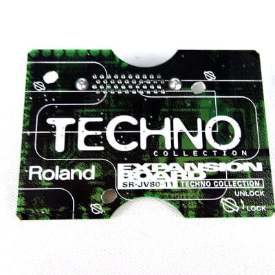 Roland SR-JV80-11 Techno Collection Expansion Board