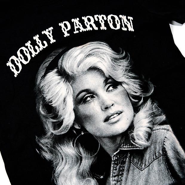 cb0f6677234 Dolly Parton Black and White Portrait T-Shirt Xmas
