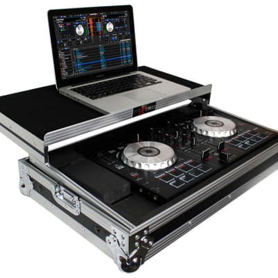 ProX X-MXTSBLT Hard Case For Pioneer DDJ-SB & Numark Mixtrack Pro/Pro II W/Shelf