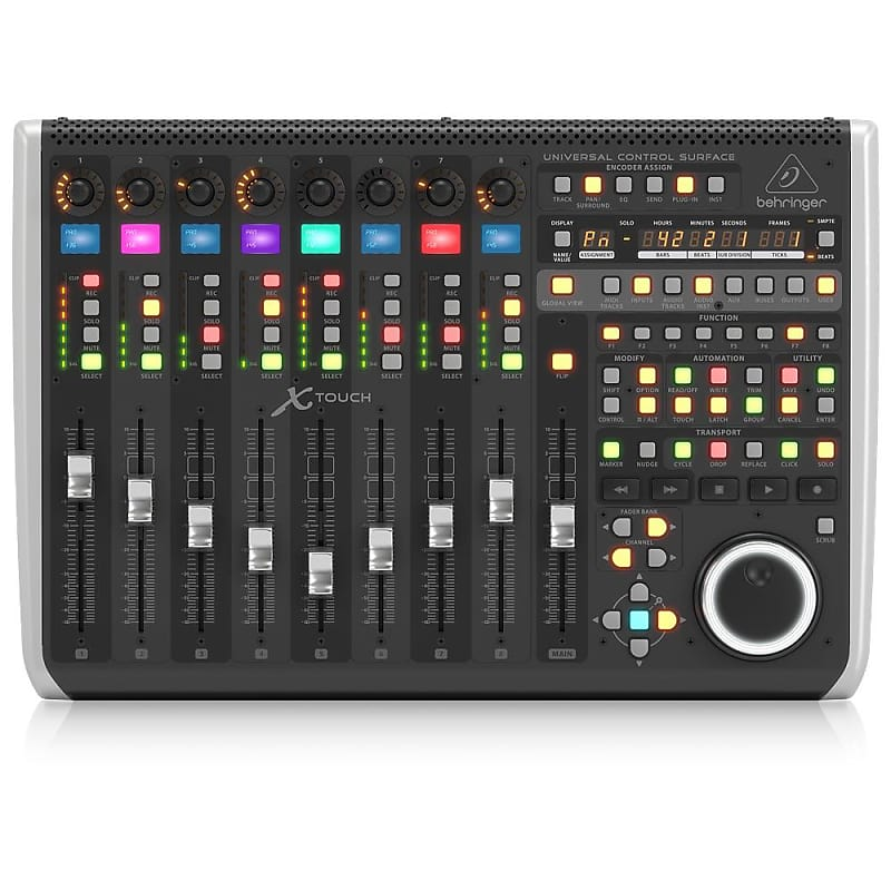 behringer x touch usb midi universal control surface with 9 reverb. Black Bedroom Furniture Sets. Home Design Ideas