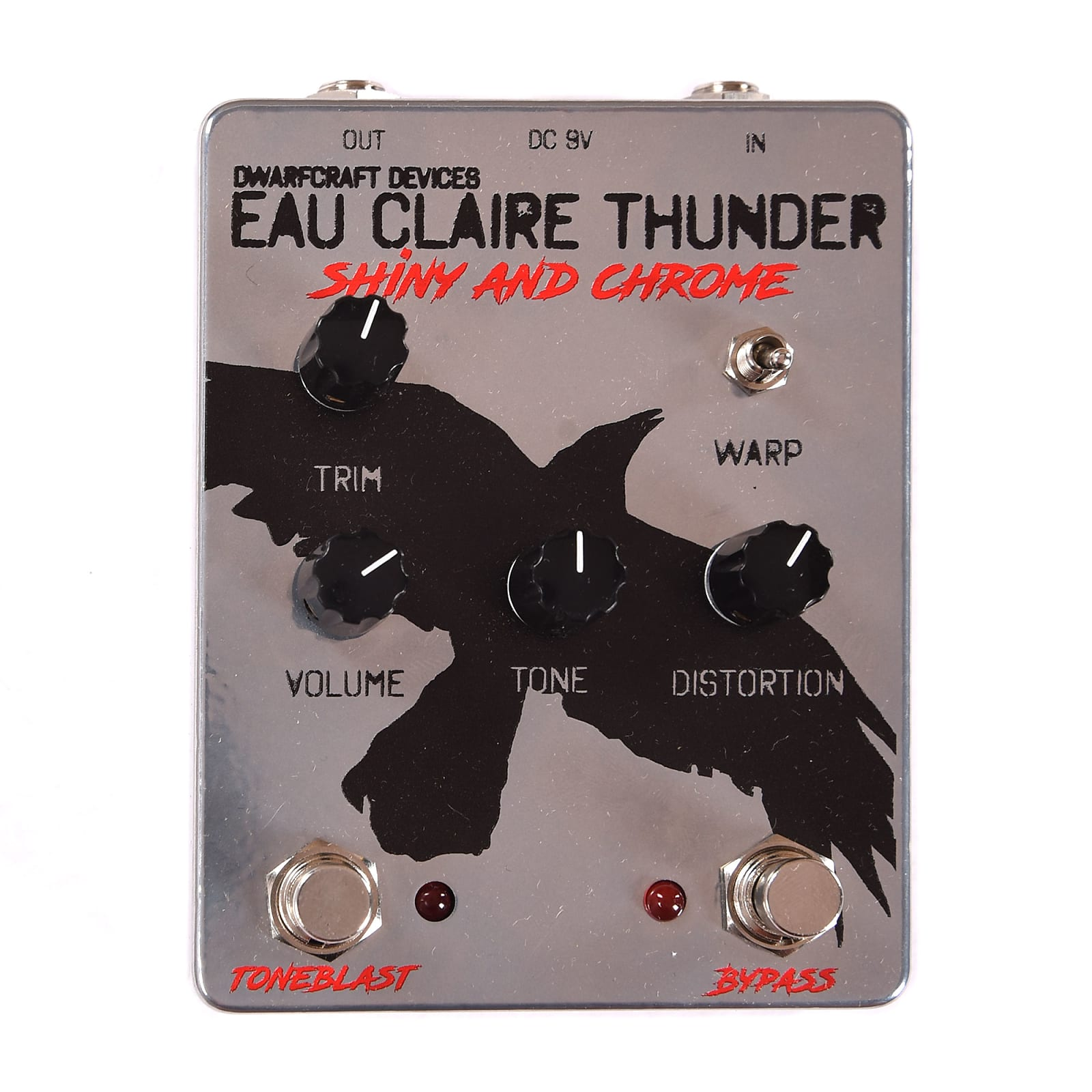 Dwarfcraft Devices Eau Claire Thunder Shiny and Chrome LTD Edition