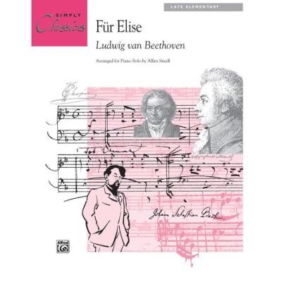 Für Elise - Ludwig van Beethoven (Late Elementary)