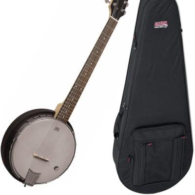 Goldtone AC-6+ 6 String Banjo with Gig Bag