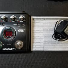 Zoom G2 Guitar Effects/Modeling Processor
