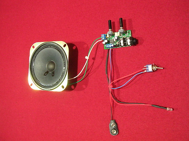 Mini Guitar Amp Kit With 4 U0026quot  Speaker