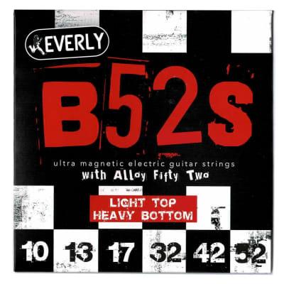 Everly 9220 B52's Ultra Magnetic Light Top Heavy Bottom 10-52 Strings
