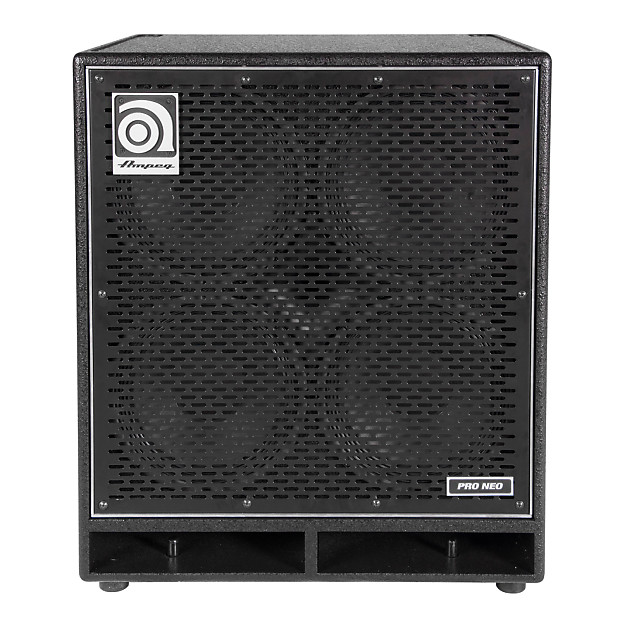 ampeg pn 410hlf pro neo bass cabinet 850 watts 4x10 reverb. Black Bedroom Furniture Sets. Home Design Ideas