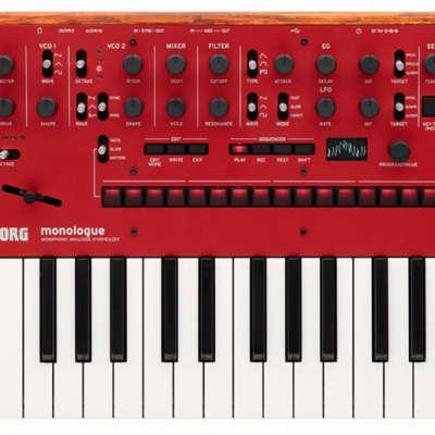 Korg Monologue Red Monophonic Analogue Synthesizer