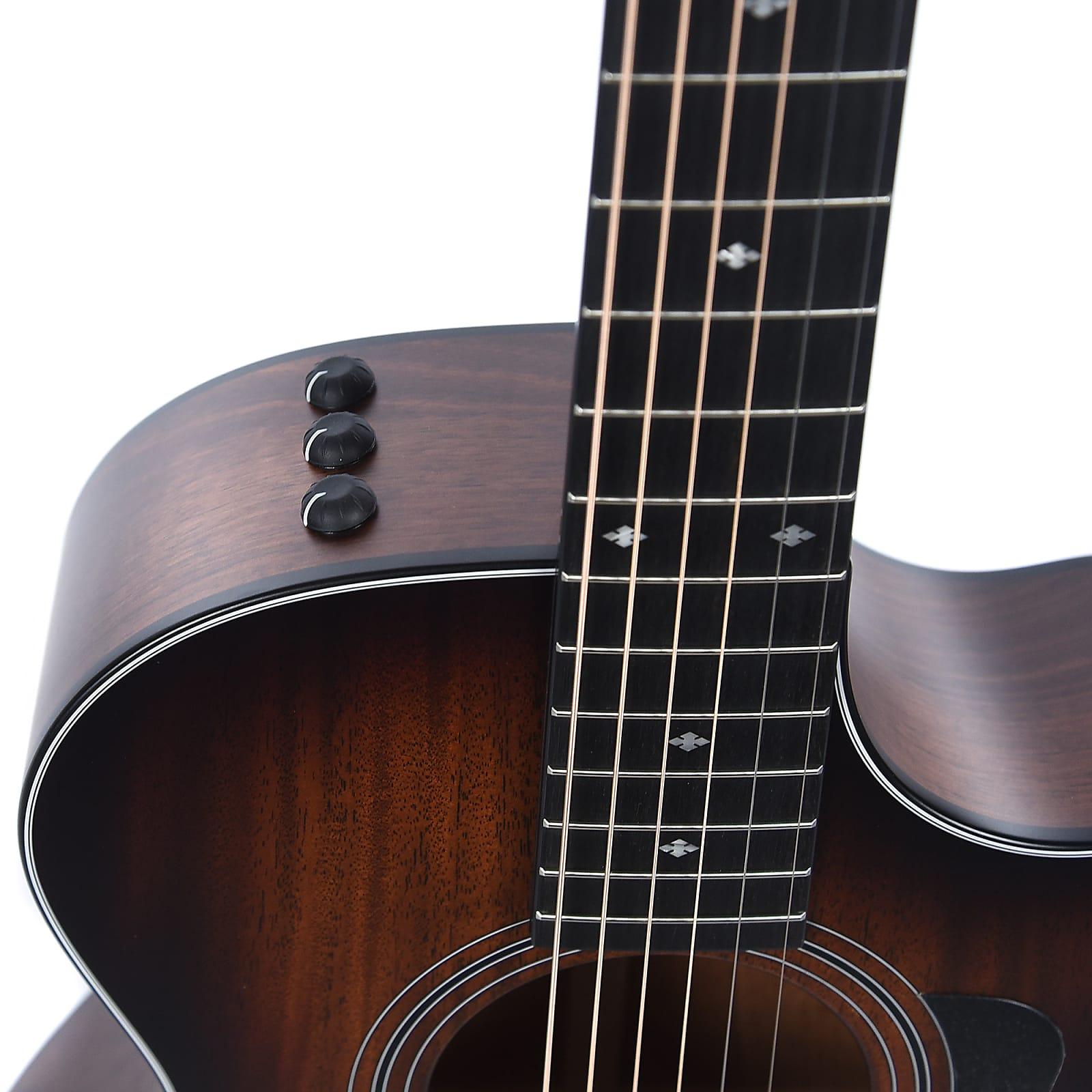 taylor 322ce 12 fret grand concert tropical mahogany tasmanian