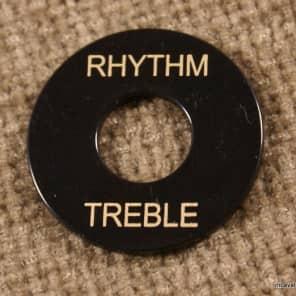 Toggle Switch washer Rhythm / Treble Ring Black/Gold