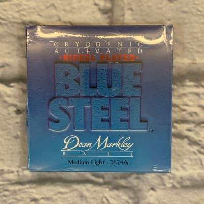 Dean Markley Blue Steel Nickel Plated Medium Light 45-105 Bass Strings
