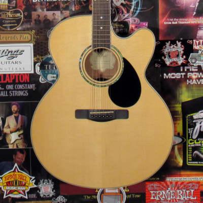 Greg Bennett by Samick - GJ100 SCE-N - Jumbo Acoustic Electric Guitar - Natural for sale