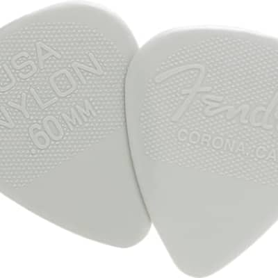 Fender Fender Nylon Pick .60 12 Pk for sale