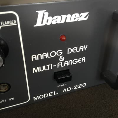 Ibanez AD-220 Analog Delay & Multi-Flanger