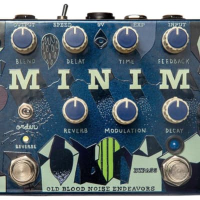 Old Blood Noise Minim Immediate Ambient Machine Effects Pedal