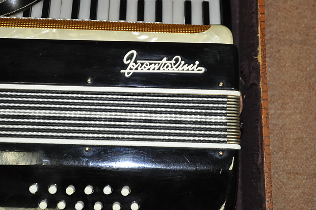 Vintage Frontalini 12 Bass Accordion