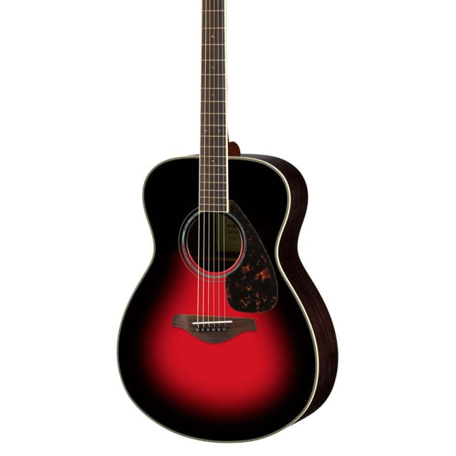 Yamaha FS830 Solid Top Small Body Acoustic Guitar image