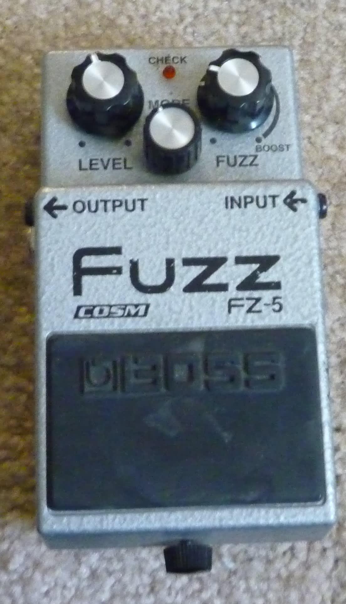 boss fz 5 fuzz pedal donovan amplification reverb. Black Bedroom Furniture Sets. Home Design Ideas
