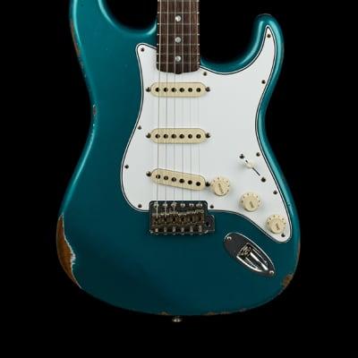 Fender Custom Shop Empire 67 Stratocaster Relic - Ocean Turquoise #43890 for sale