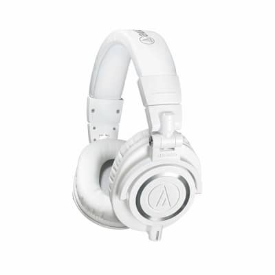 Audio-Technica ATH-M50x-WH Professional Studio Monitor Headphones