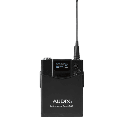 Audix B60 Performance Series Bodypack Transmitter 2018 Black