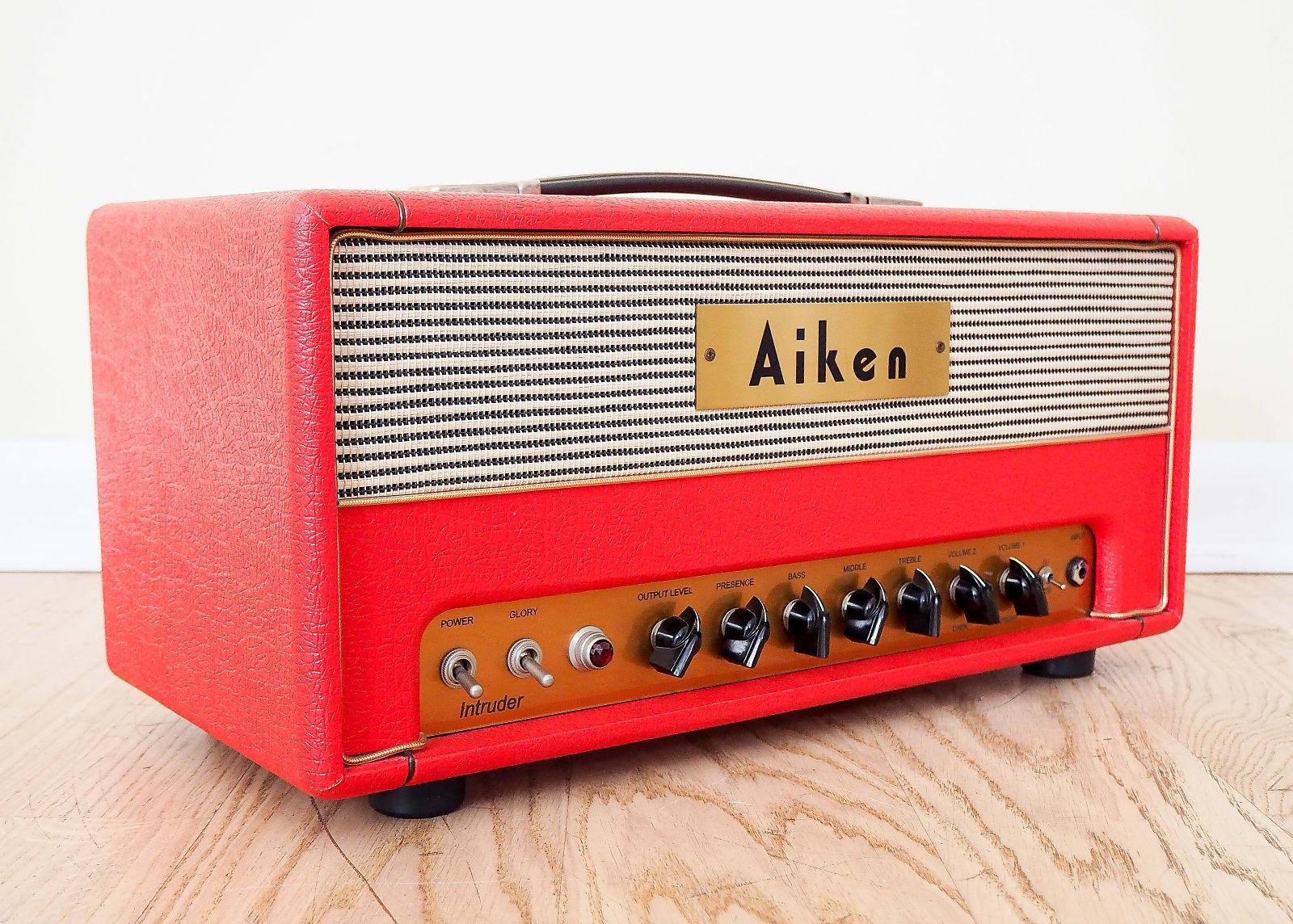 Aiken Intruder Boutique Tube Amplifier Head Prototype 18w El84 Red 5w Schematic