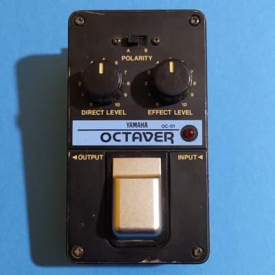 Yamaha OC-01 Octaver - DC jack mod - made in Japan